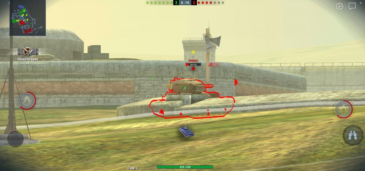 WoT Blitz является одной из самых популярных мобильных игр в Украине / скриншот