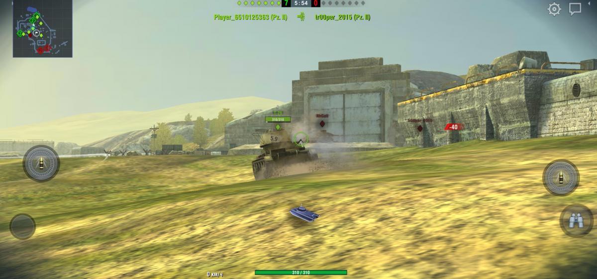 World of Tanks Blitz / скриншот