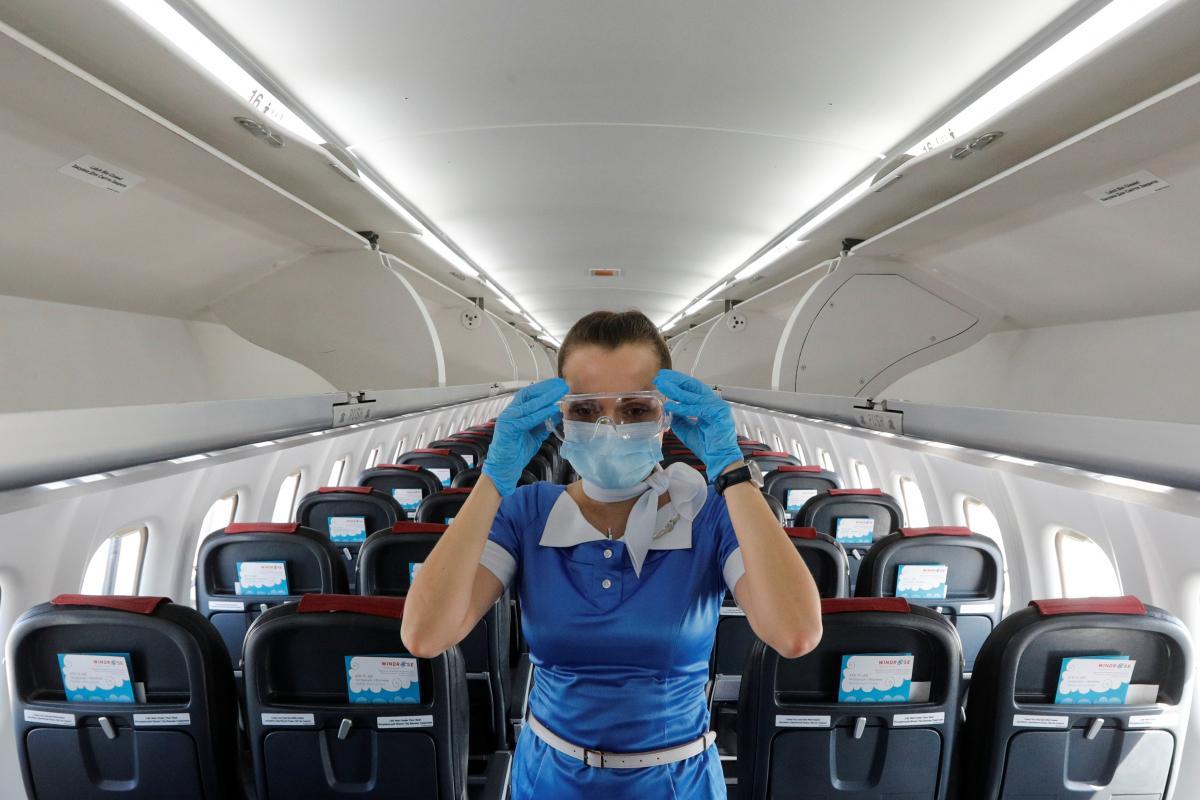 Без теста пассажир не сможет сесть в самолет / Иллюстрация REUTERS