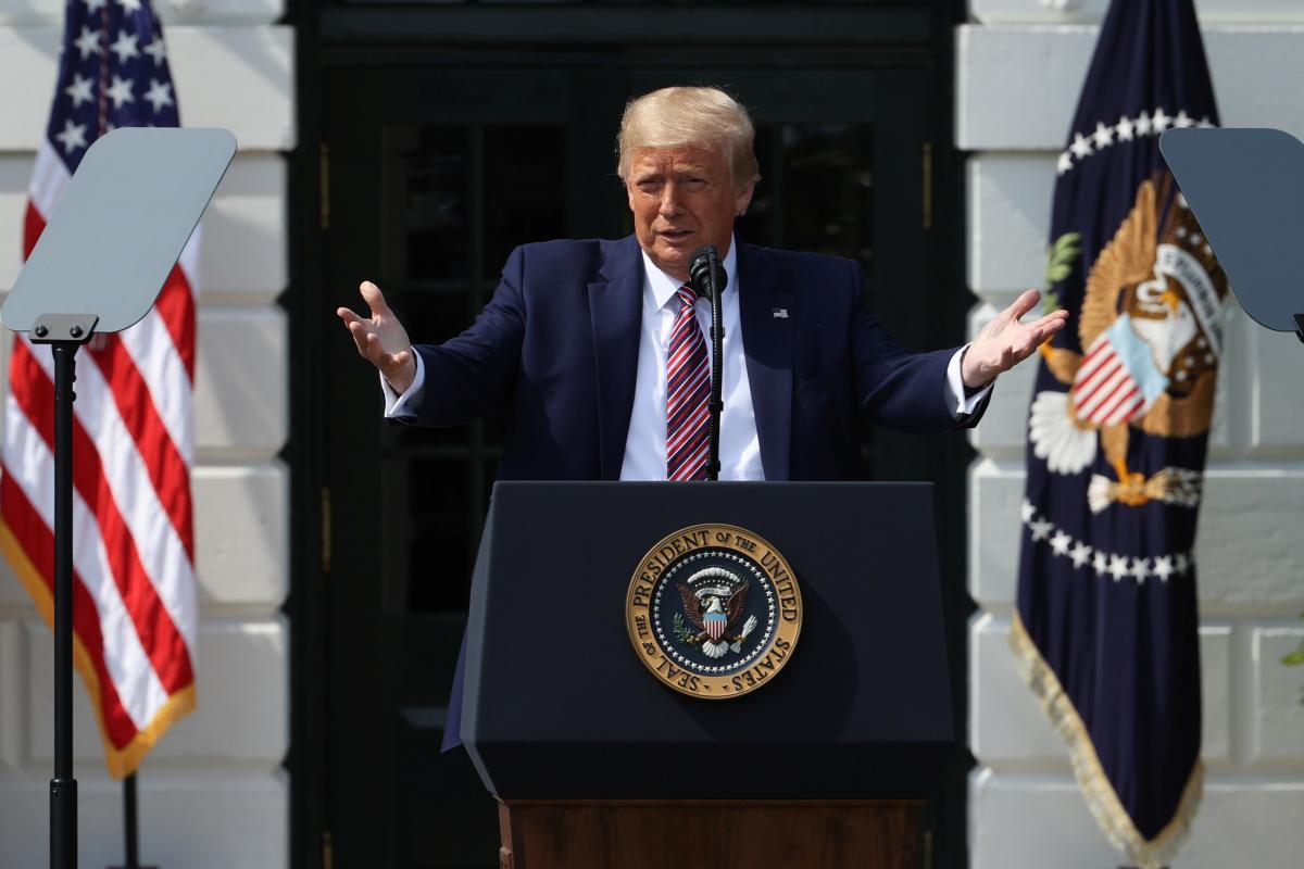 Дональд Трамп завтра уже не будет президентом США / фото REUTERS