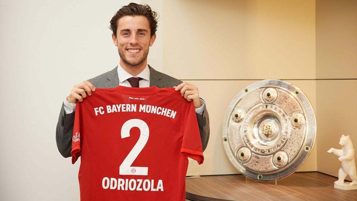 Одриосола получит медали сразу от двух клубов / фото fcbayern.com