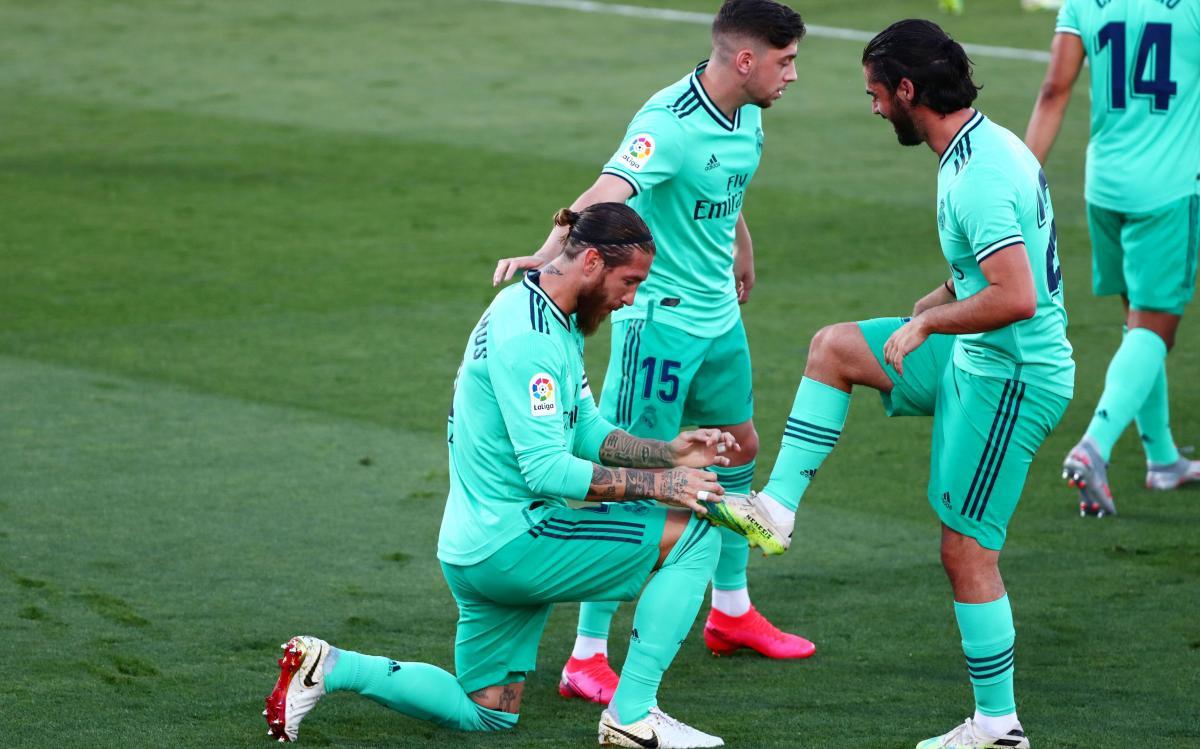 Реал - чемпион Испании / фото REUTERS
