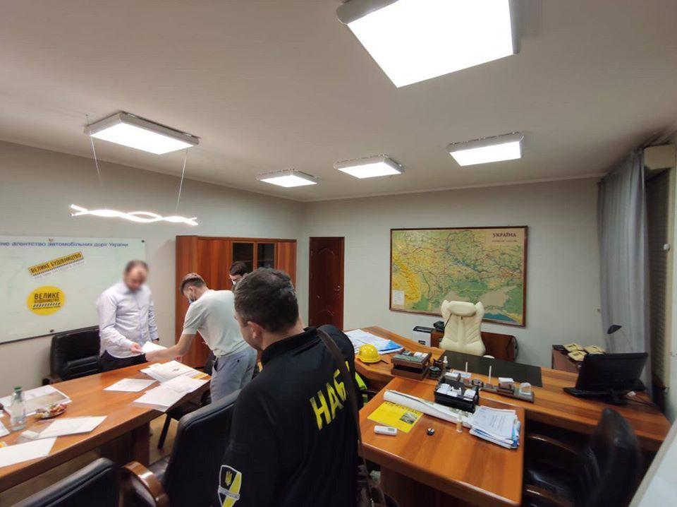 НАБУ проводит обыски / фото facebook.com/nabu.gov.ua