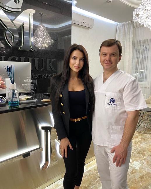 Максим Иванчук с пациенткой Екатериной Расковой / instagram.com/dr.ivanchuk