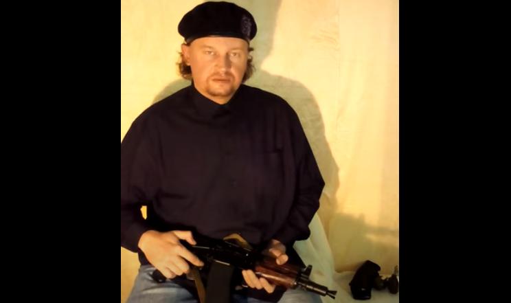 Луцкий террорист записал видео перед захватом заложников / скриншот