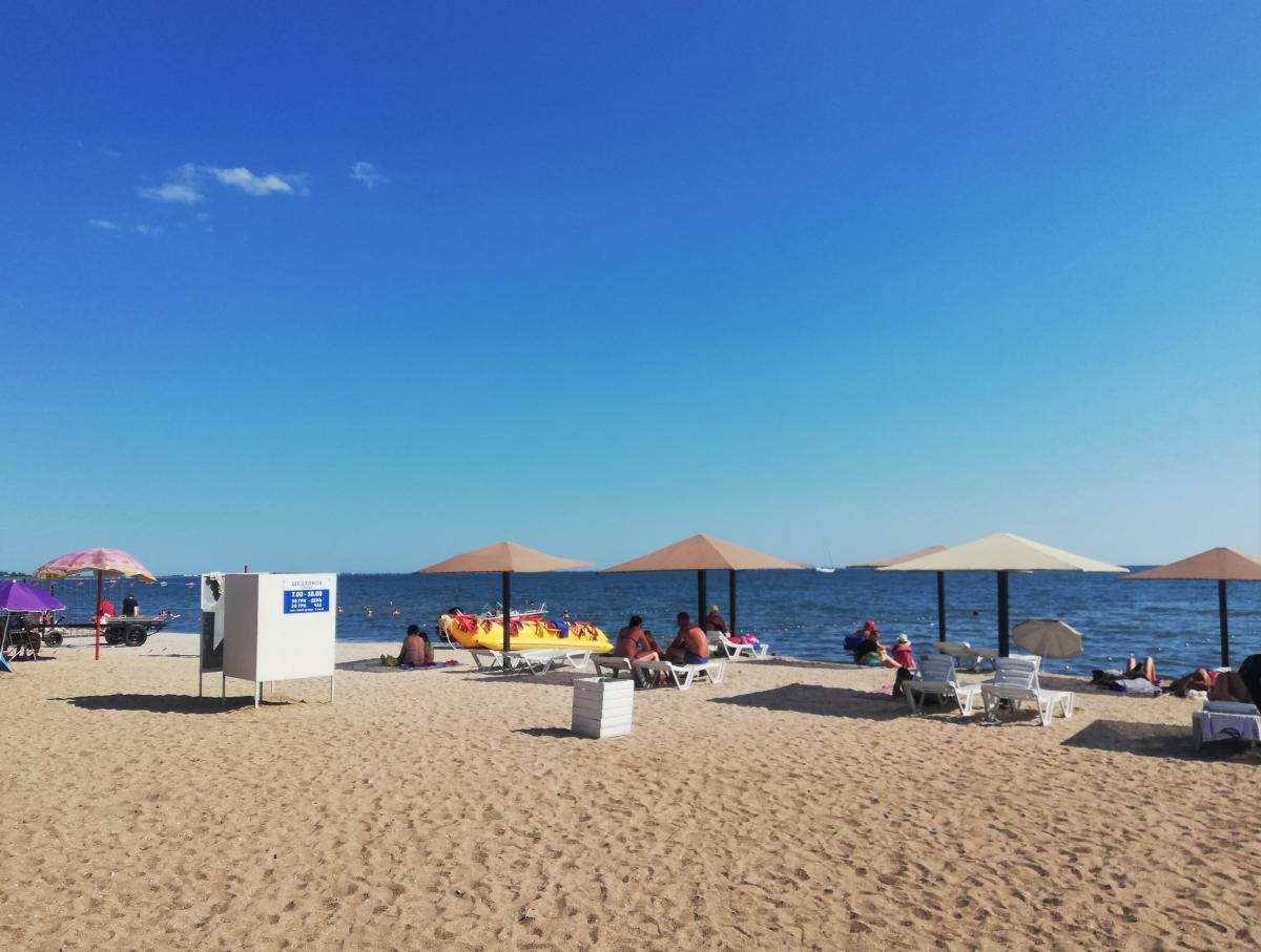 Бердянск подготовился к курортному сезону / фото Марина Григоренко