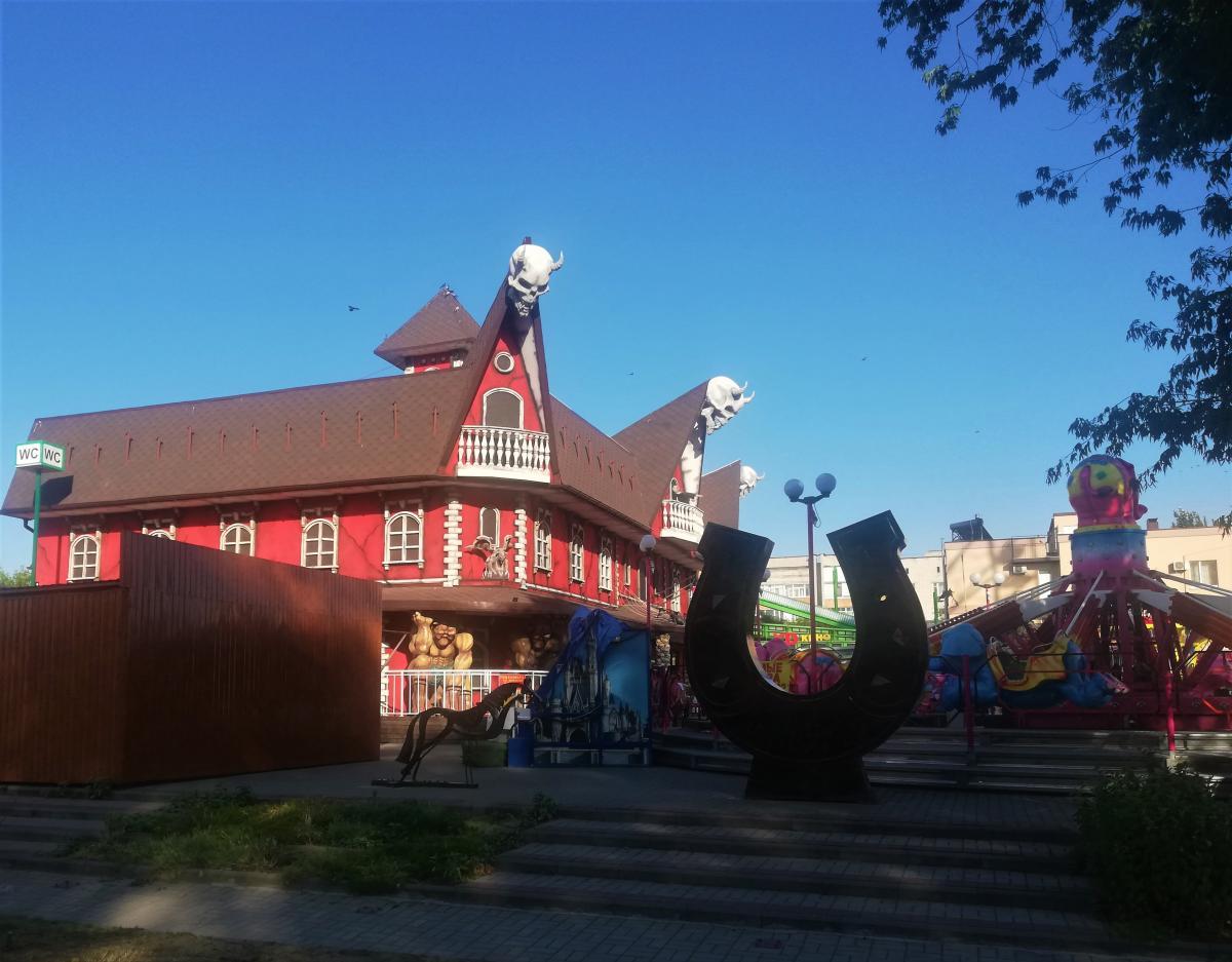 Дом страха в Бердянске / фото Марина Григоренко