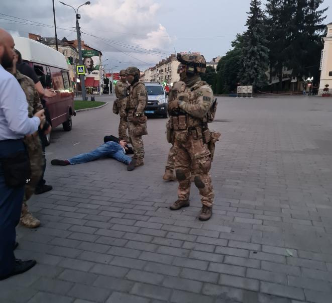 Кривош задержан / фото twitter.com/AvakovArsen
