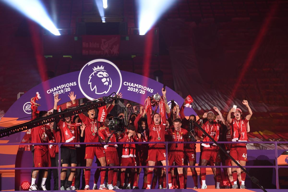 Ливерпуль - чемпион Англии / фото REUTERS