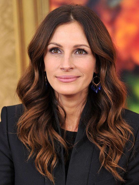 Темные волосы / фото pinterest.com