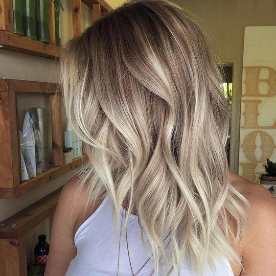 Светлые волосы / фото pinterest.com
