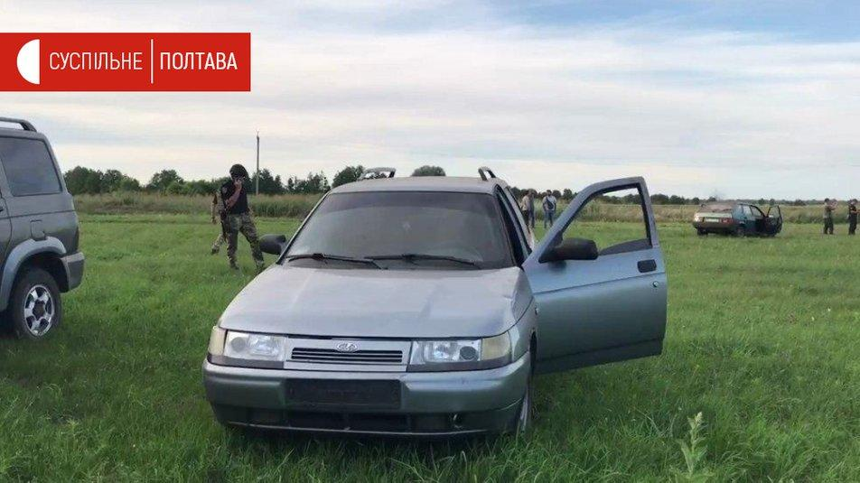На данный момент правоохранители продолжают поиски злоумышленника / фото Суспільне Полтава