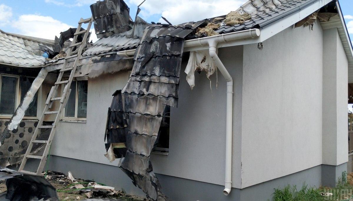 Антикоррупционер заявил о поджоге своего дома / фото УНИАН