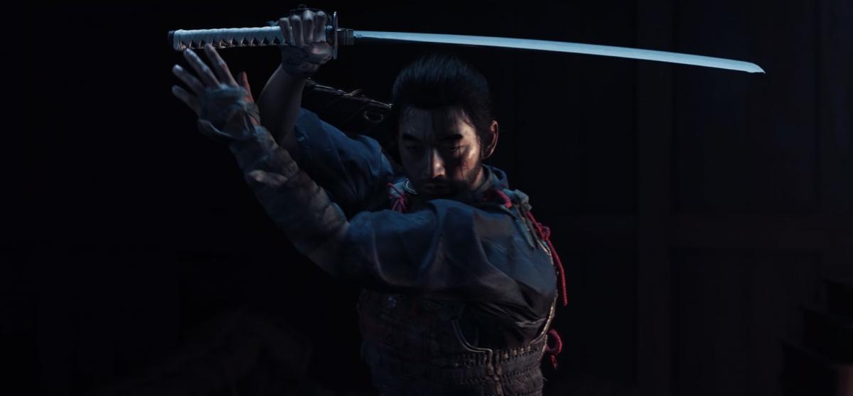 Дзин – главный герой игры Ghost of Tsushima / скриншот