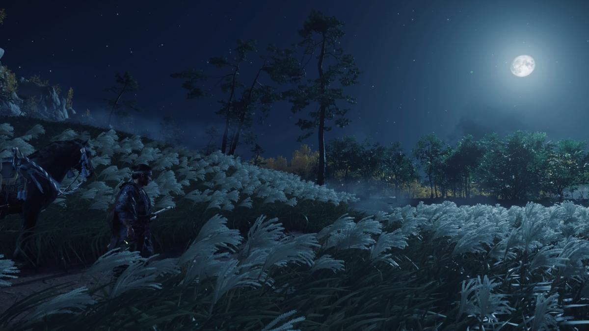 Ночные прогулки в Цусиме / скриншот