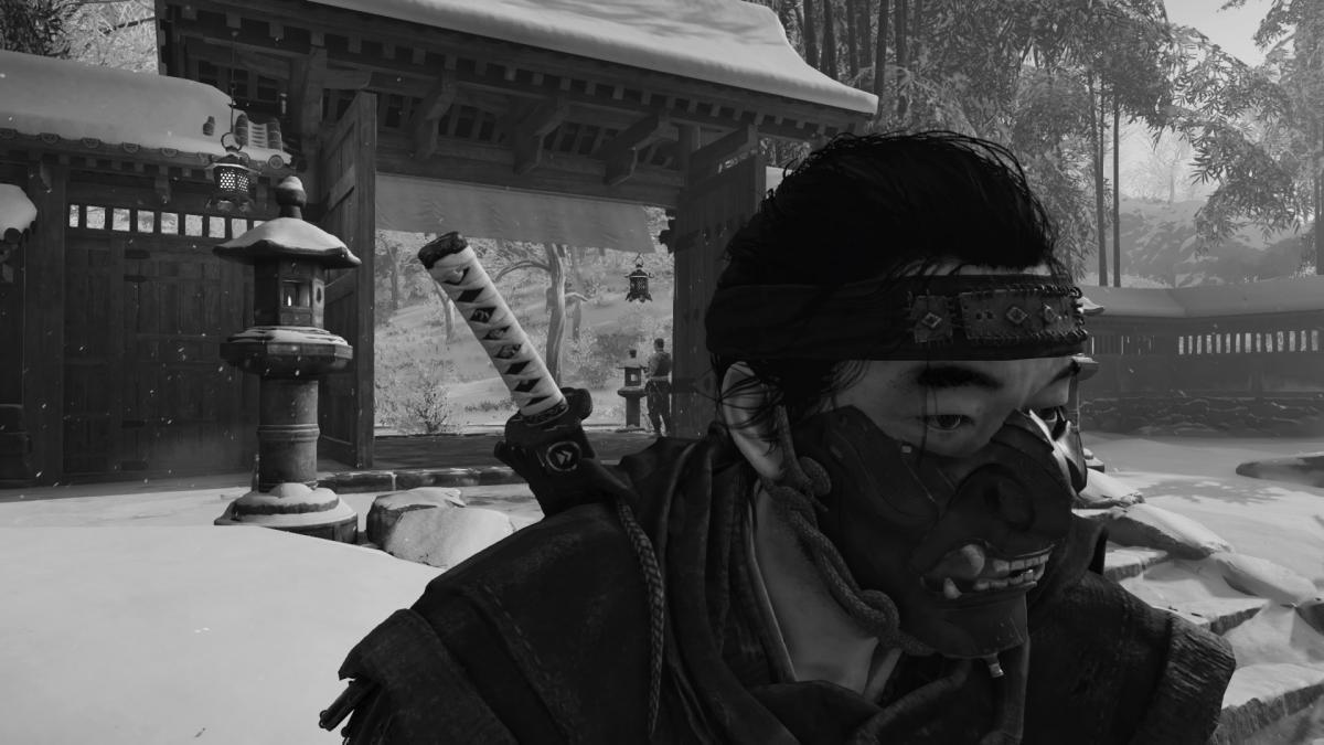 Можно пробудить своего внутреннего Куросаву и сделать такой ретро снимок / скриншот