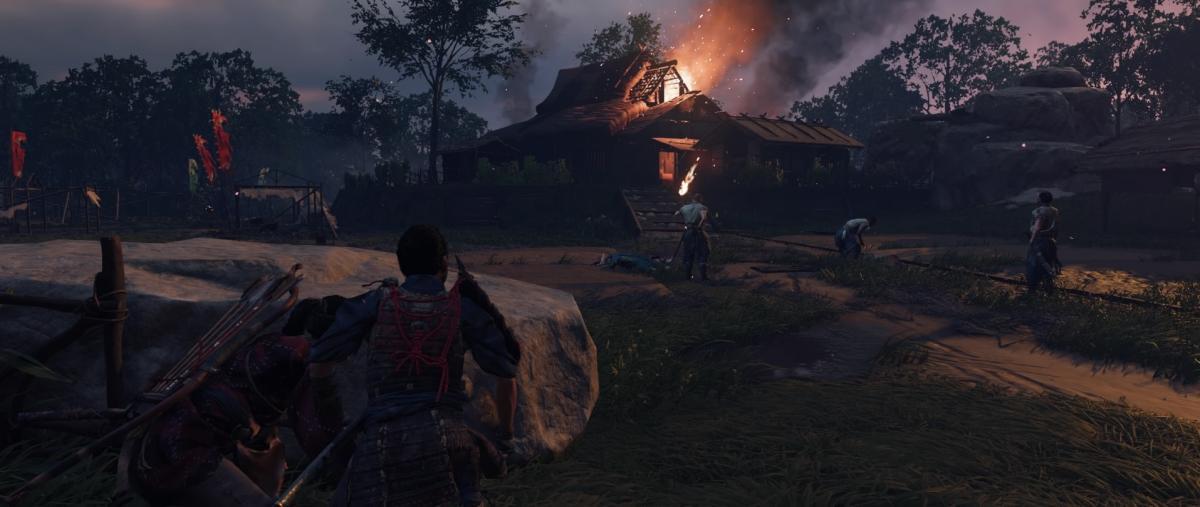 Враги сожгли родную хату / скриншот
