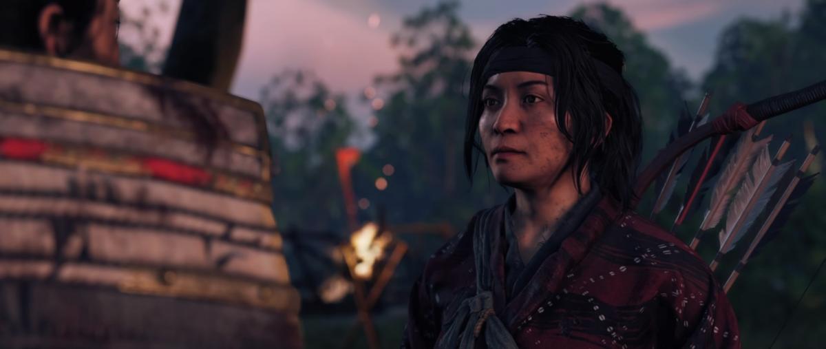 Юна – находчивая воровка, которая сделает из Дзина легенду / скриншот