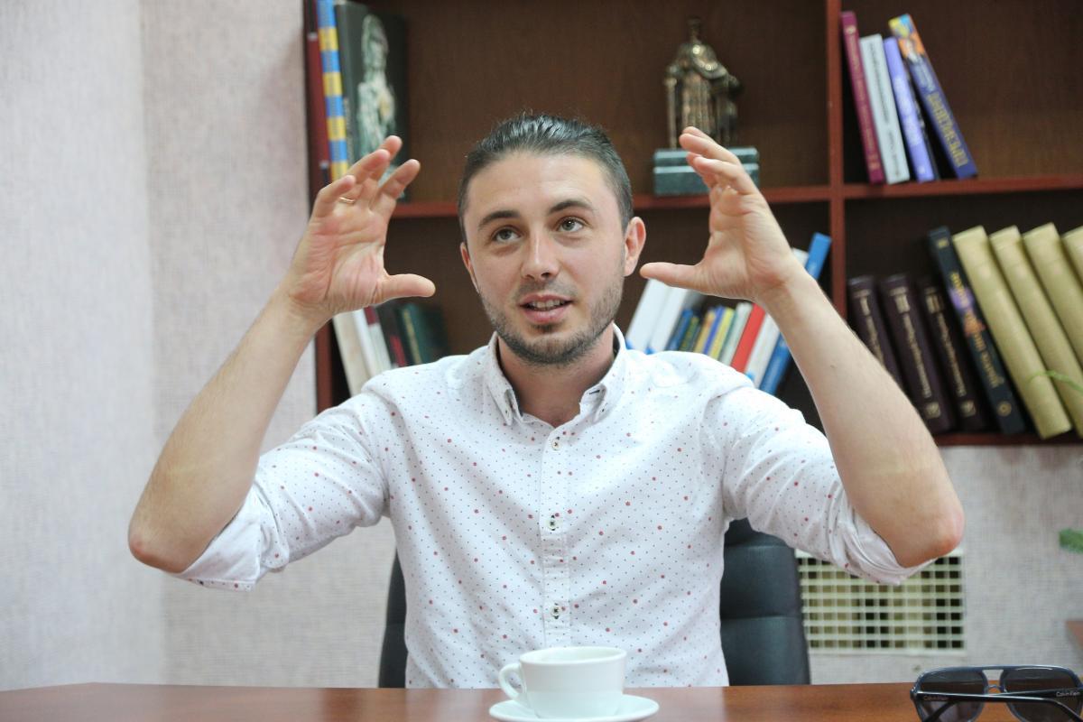 """Коли ти починаєш політичну діяльність, ти звужуєш аудиторію- вважає лідер гурту """"Антитіла""""/ фото УНІАН"""