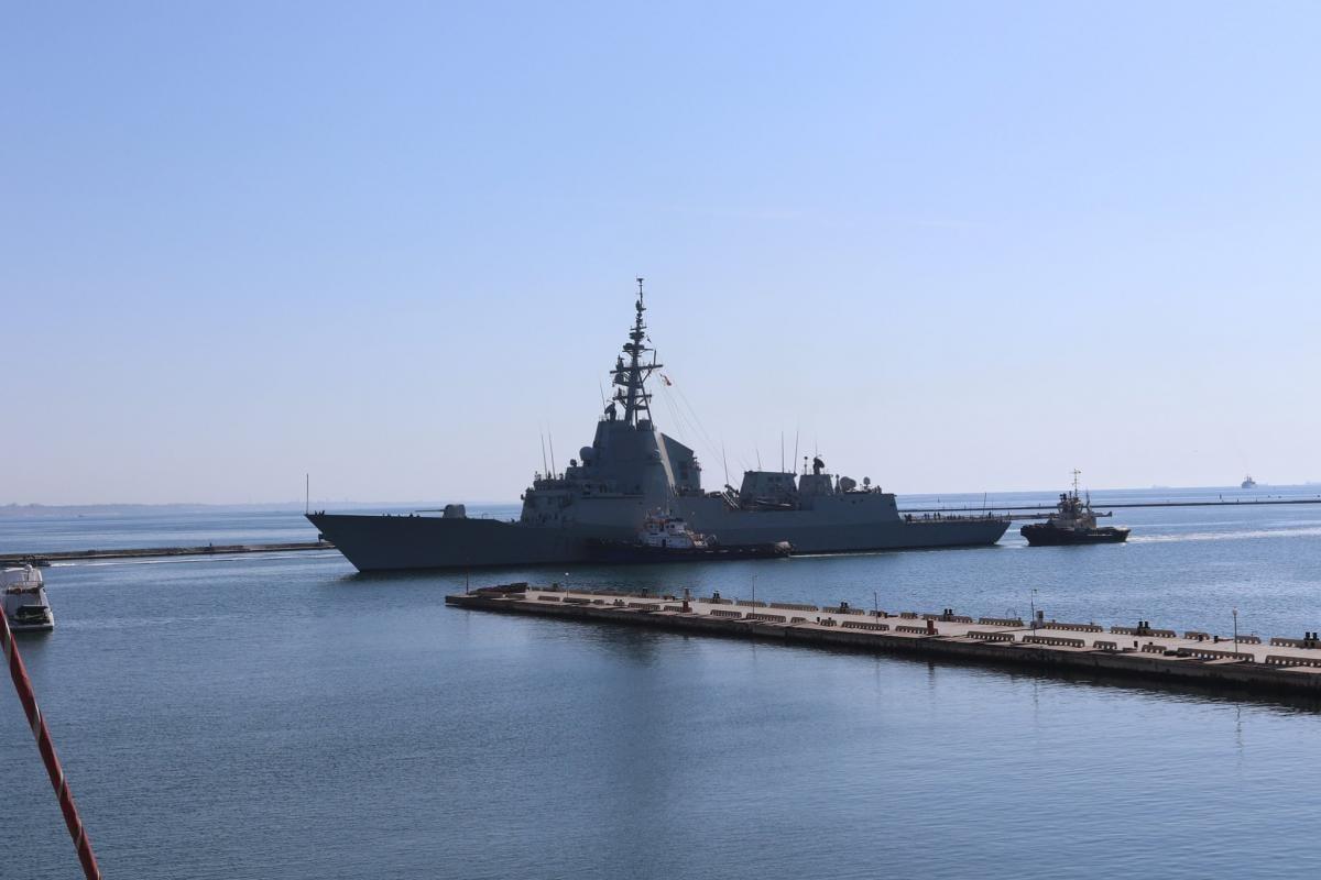 Корабли НАТО в Одессе / фото ВМС ВСУ