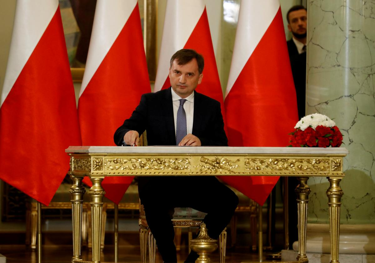 Министр юстиции Польши Збигнев Зебро / REUTERS