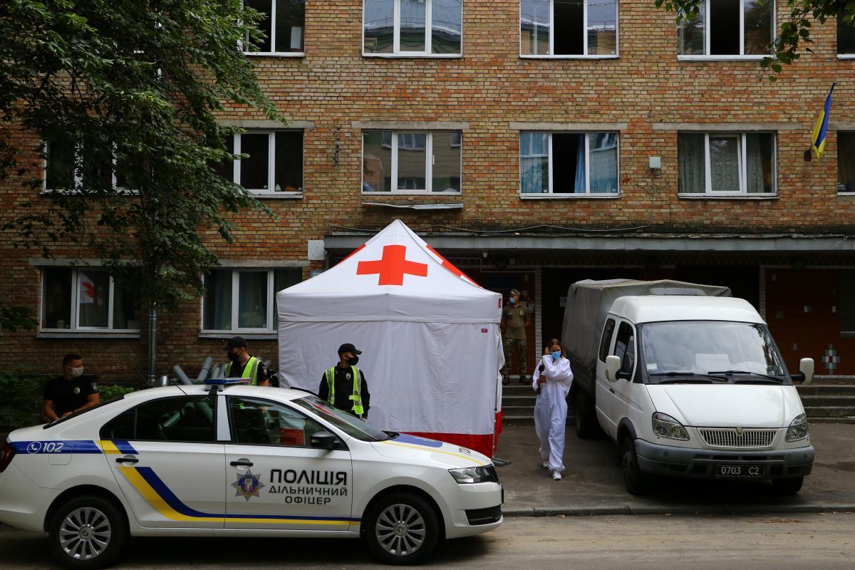 10 курсантов госпитализированы в столичныемедучреждения/ УНИАН