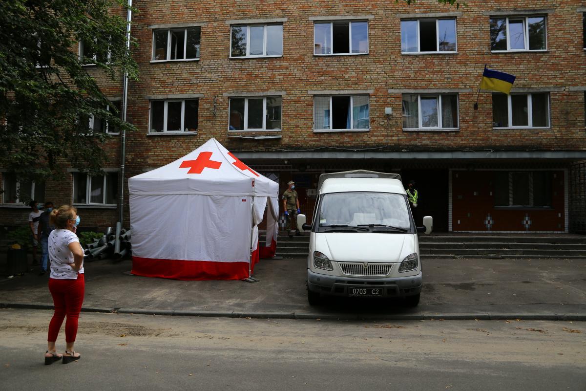 В общежитии КПИ - коронавирус / фото УНИАН
