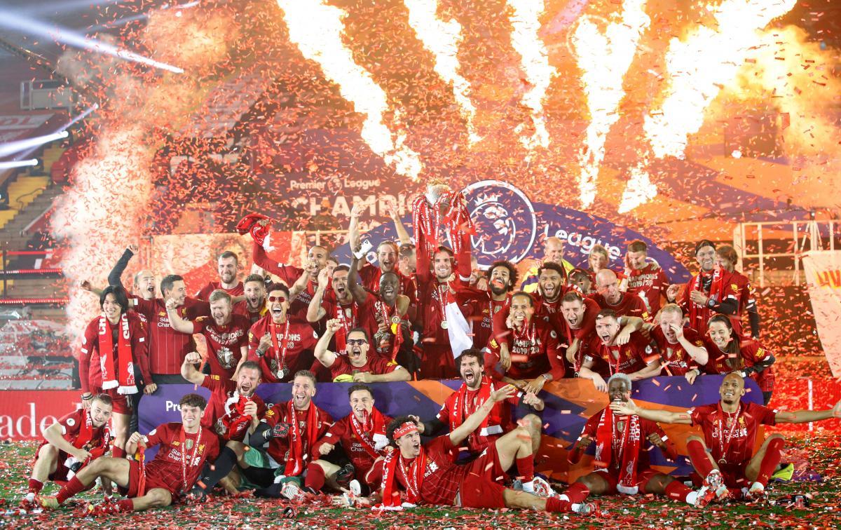 Ліверпуль став чемпіоном достроково / фото REUTERS