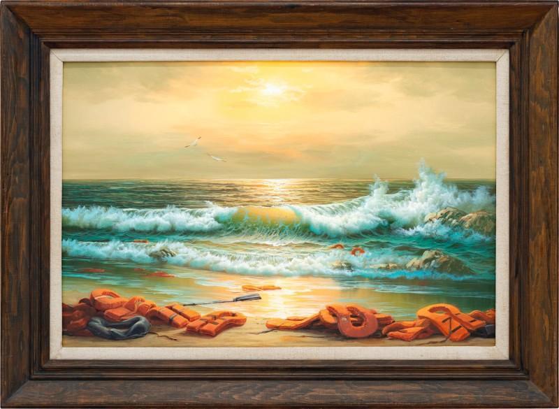 Бэнкси пожертвовал три картиныдля аукциона / Фото sothebys.com