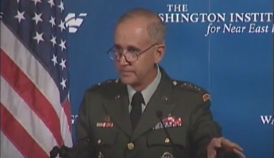 Keith Dayton was a strategic adviser to the Ukrainian Defense Ministry / Screenshot