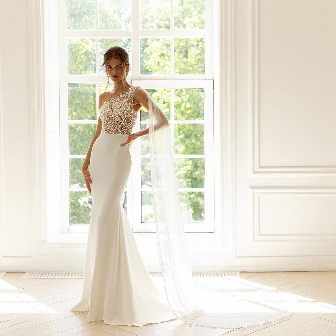 Свадебное платье / instagram.com/crystalsalon.kyiv