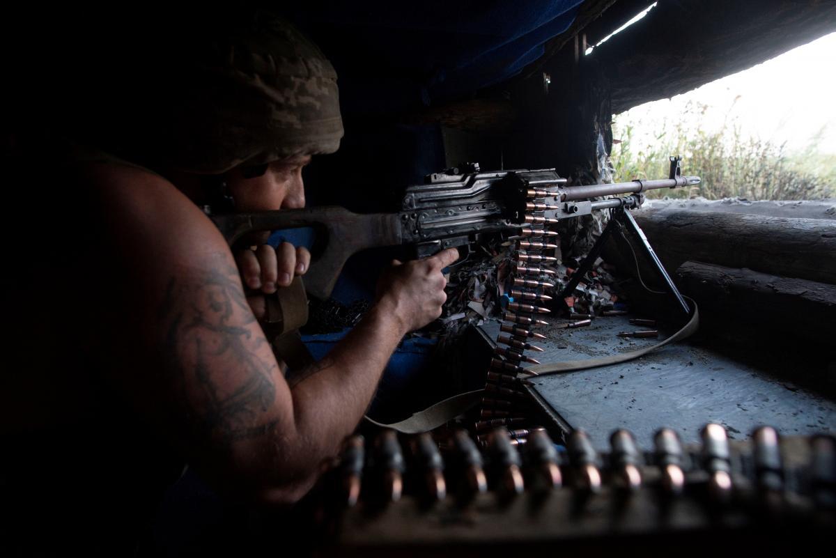Втрат серед українських військових немає \ фото REUTERS