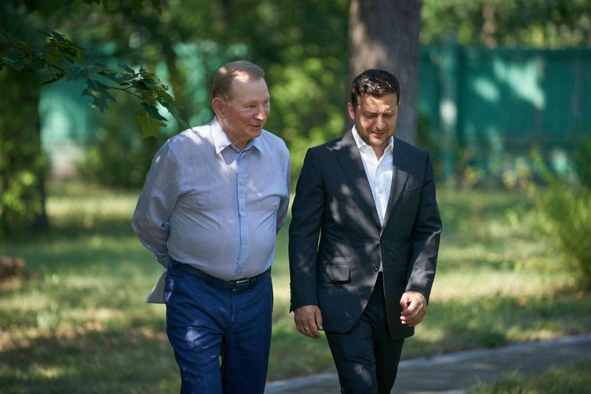 Зеленский попрощался с Кучмой / фото president.gov.ua