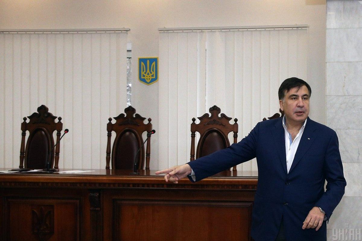 Михеил Саакашвили предлагает вчетверо сократить количество судов / фото УНИАН
