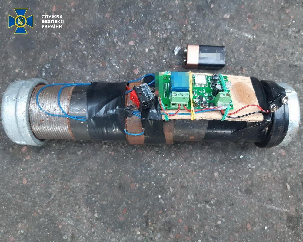 СБУ задержала организаторов серии взрывов / фото facebook.com/SecurSerUkraine