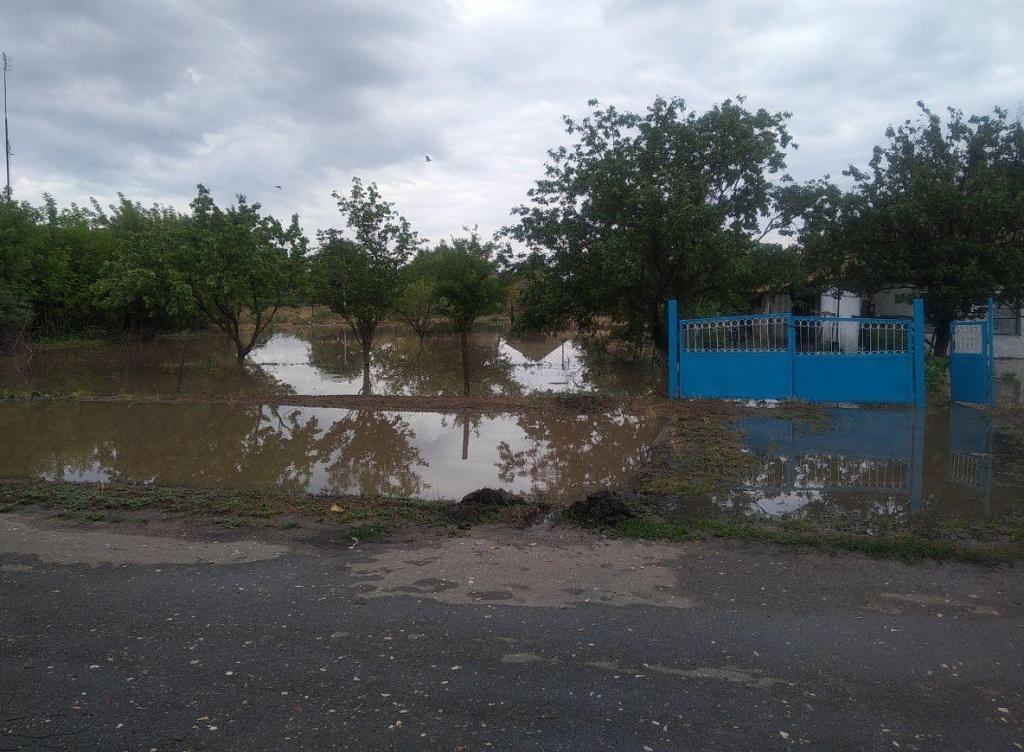 Ливень затопил село в Херсонской области / ГСЧС