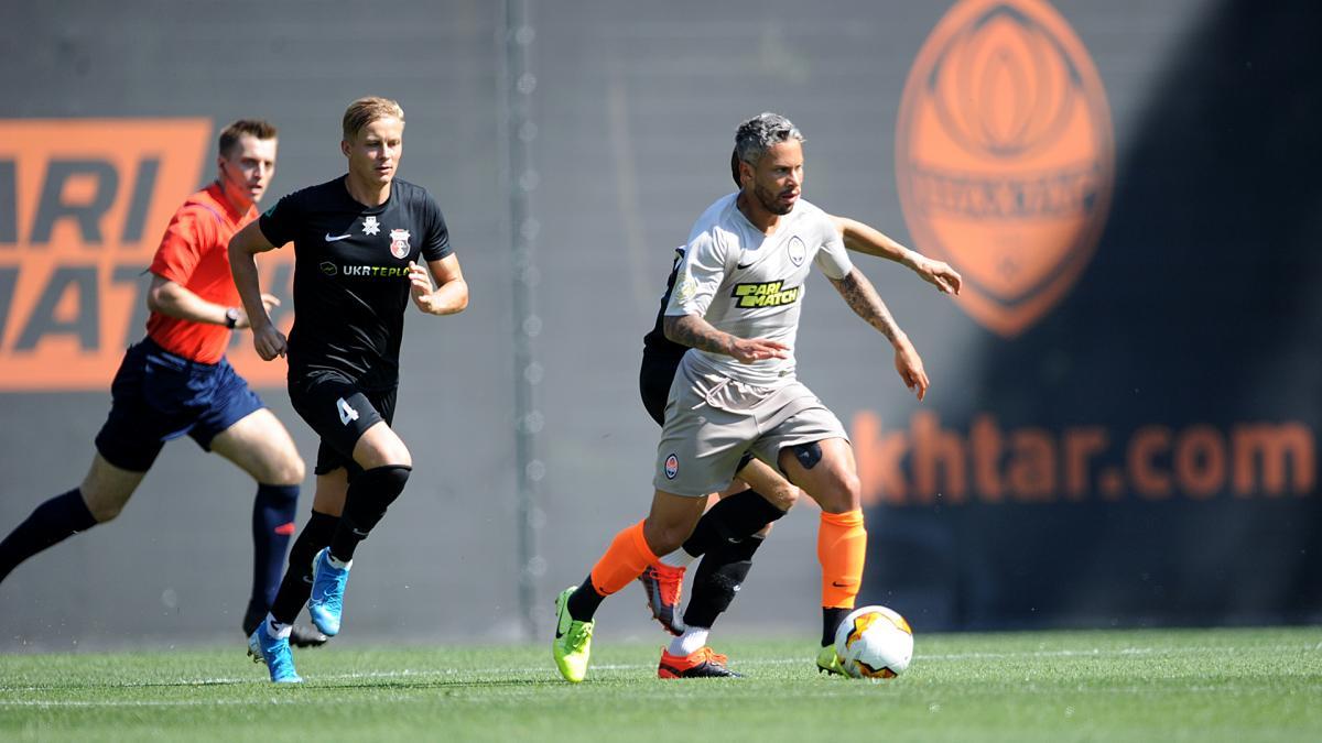 Шахтар забив обидва голи у другому таймі / фото ФК Шахтар