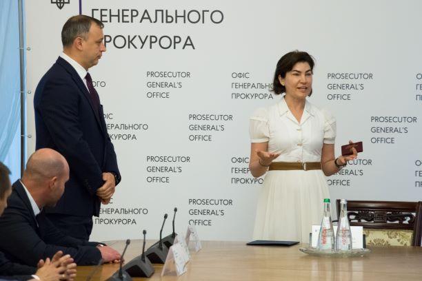 Венедиктова представила своего зама / фото ОГП