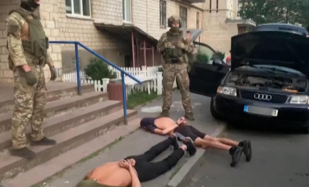 Задержанные ранее привлекались к уголовной ответственности / фото npu.gov.ua