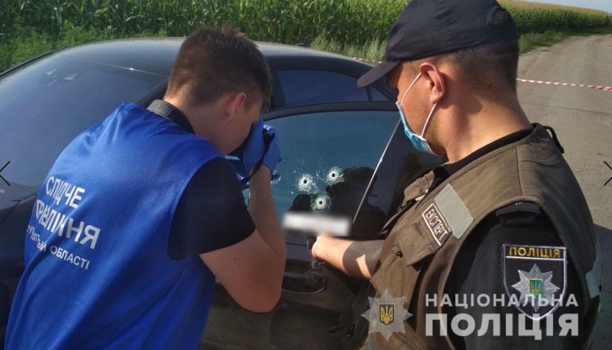 На месте происшествия работает следственно-оперативная группа / фото полиция Полтавской области