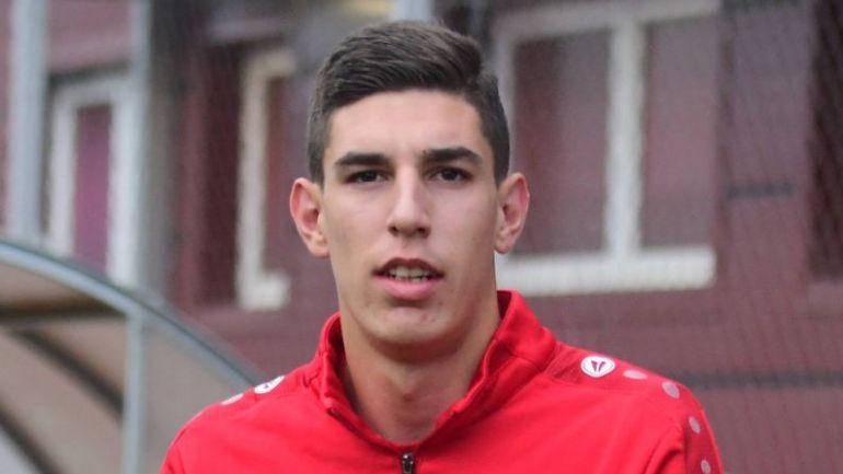 Младеновски в прошлом году дебютировал за сборную Северной Македонии / фото footballcritic.com
