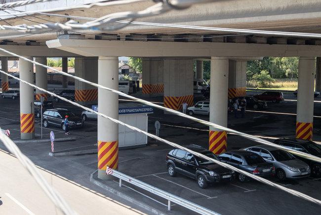 Всего на этих паркингах смогут разместиться 988 автомобилей/ Фото kyivcity.gov.ua