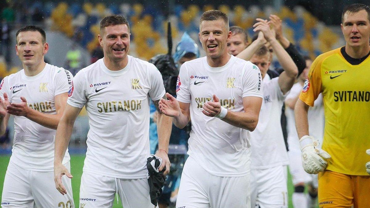 Колос у дебютному сезоні УПЛ вийшов в єврокубки / фото upl.ua