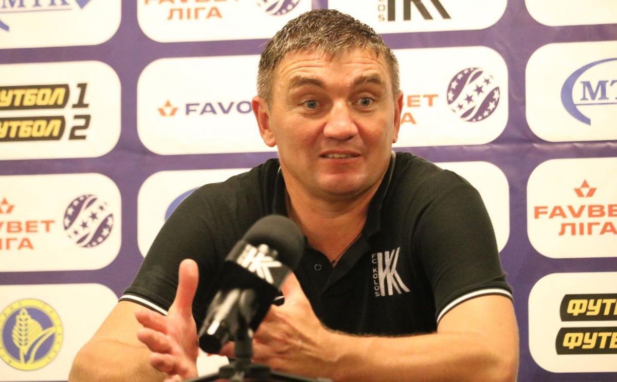 Руслан Костишин вивів Колос в Лігу Європи / фото koloskovalivka.com