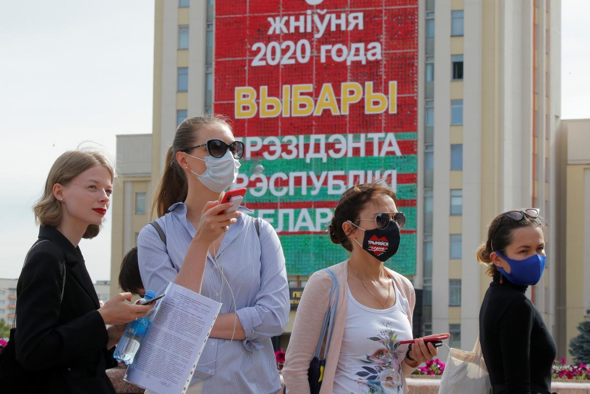 Результаты выборов в Беларуси ЕС не признает / Фото REUTERS