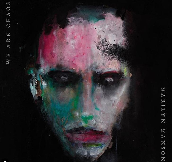 Обложка альбома была создана самим музыкантом / instagram.com/marilynmanson