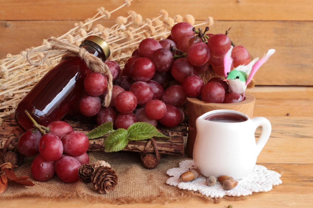 Рецепт вкусного варенья из винограда / фото ua.depositphotos.com