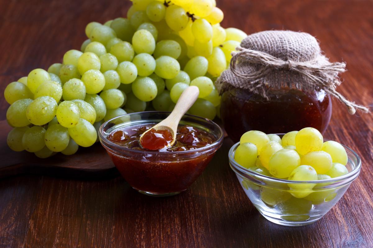 Как приготовить варенье из винограда / фото ua.depositphotos.com