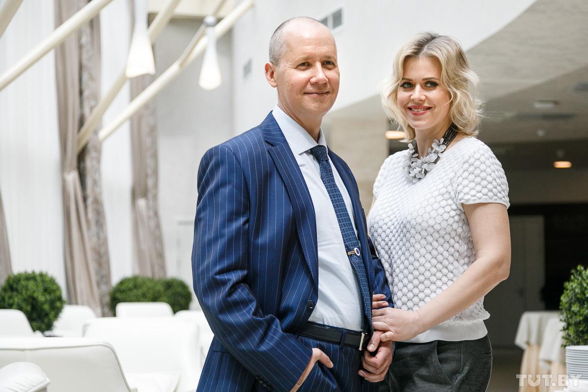 Вероника Цепкало с супругом / фото Ольга Шукайло, TUT.BY