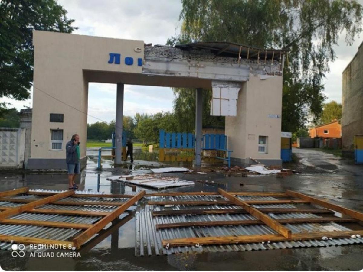 На Хмельниччині пронісся буревій з градом / shepetivka.com.ua